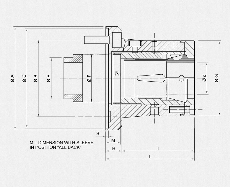 msctn af technical drawing
